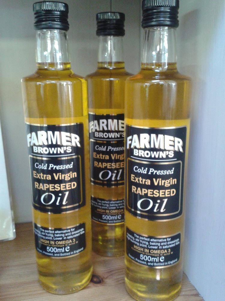 Local Rapeseed oil