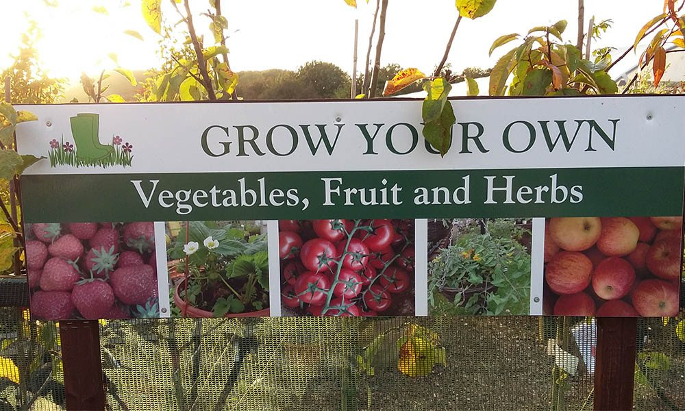 Grow your own sign
